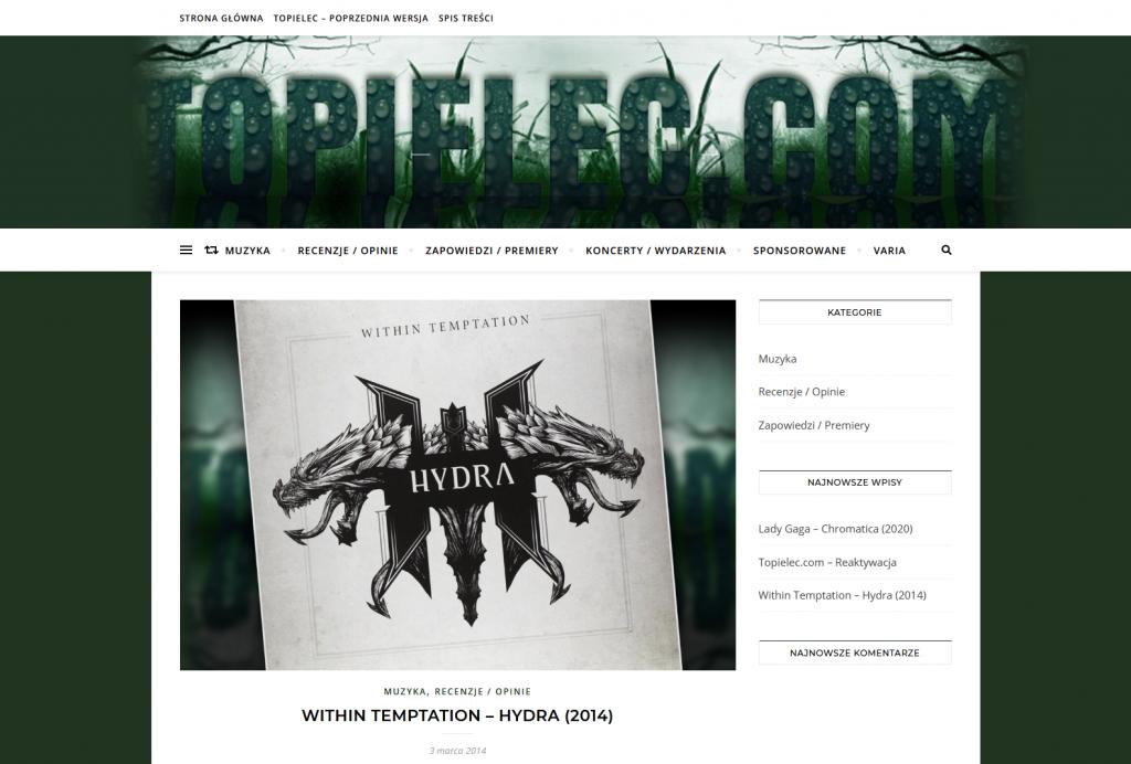 Topielec.com Blog o Muzyce