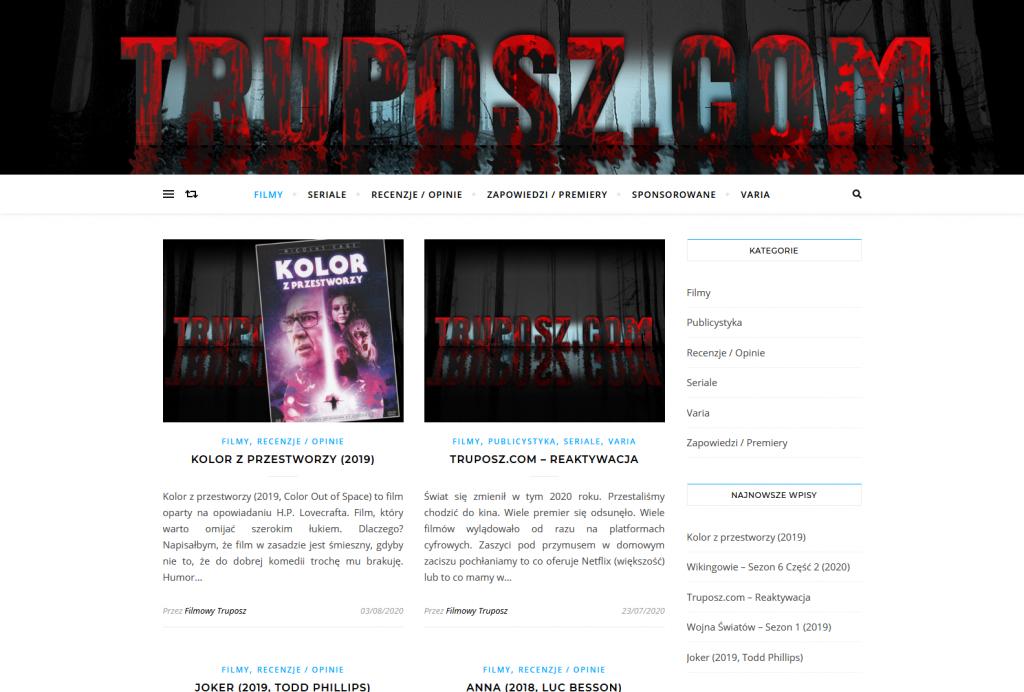 Truposz.com Filmy Seriale
